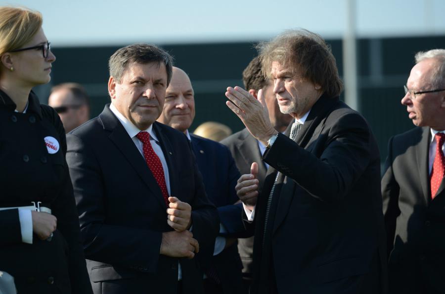 Jan Kulczyk i Janusz Piechociński
