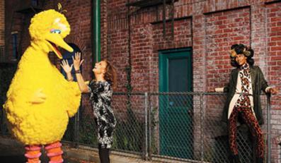 """Wielki Ptak w """"Harper's Bazaar"""""""