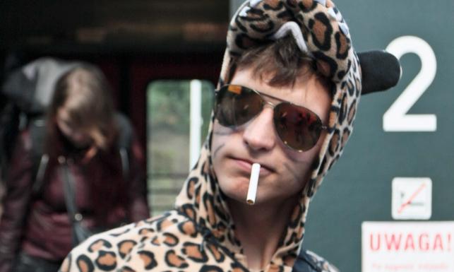 Kolorowa młodzież zjeżdża na Przystanek Woodstock 2015 [ZDJĘCIA]