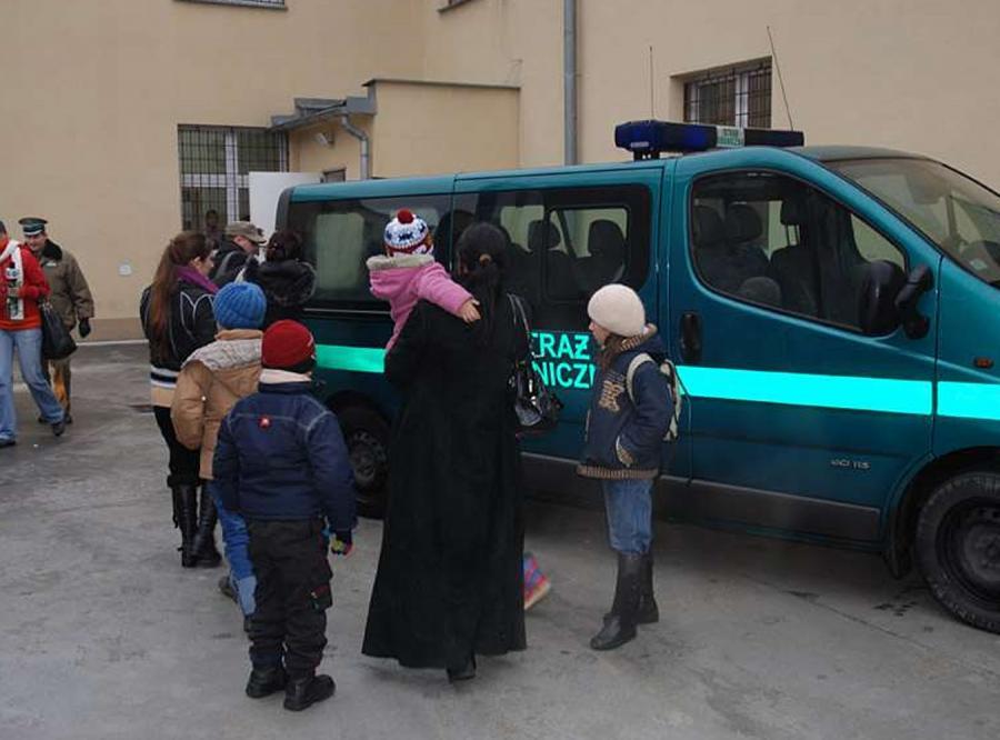 Czeczeni próbują uciekać z Polski do Niemiec
