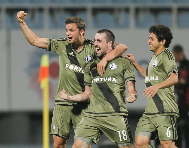 Legia wygrała w Kijowie z Zorią i jest blisko awansu
