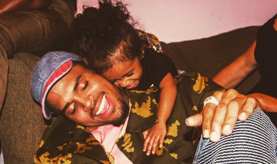 Chris Brown zainspirowany córką