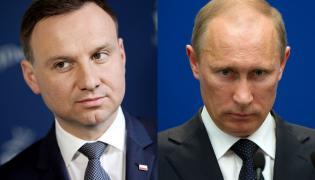 Andrzej Duda i Władimir Putin