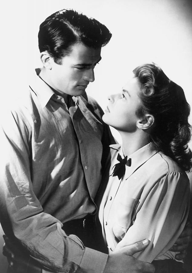 """Ingrid Bergman i Gregory Peck w """"Urzeczonej"""""""