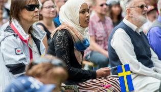 Muzułmańska imigrantka w Szwecji