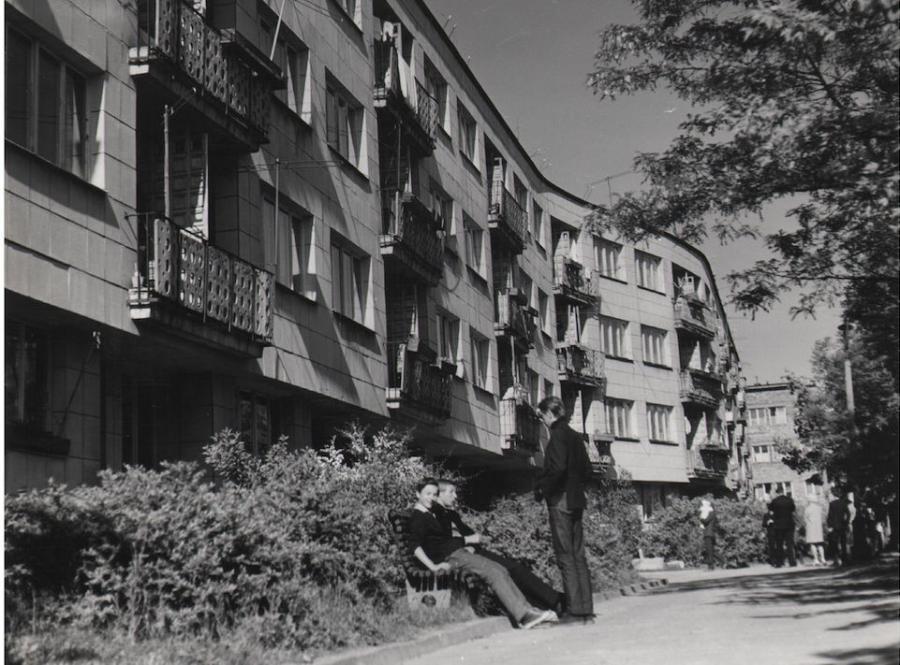 Helena i Szymon Syrkusowie, Osiedle Koło II, 1947-51 / fot. dzięki uprzejmości Muzeum Architektury we Wrocławiu