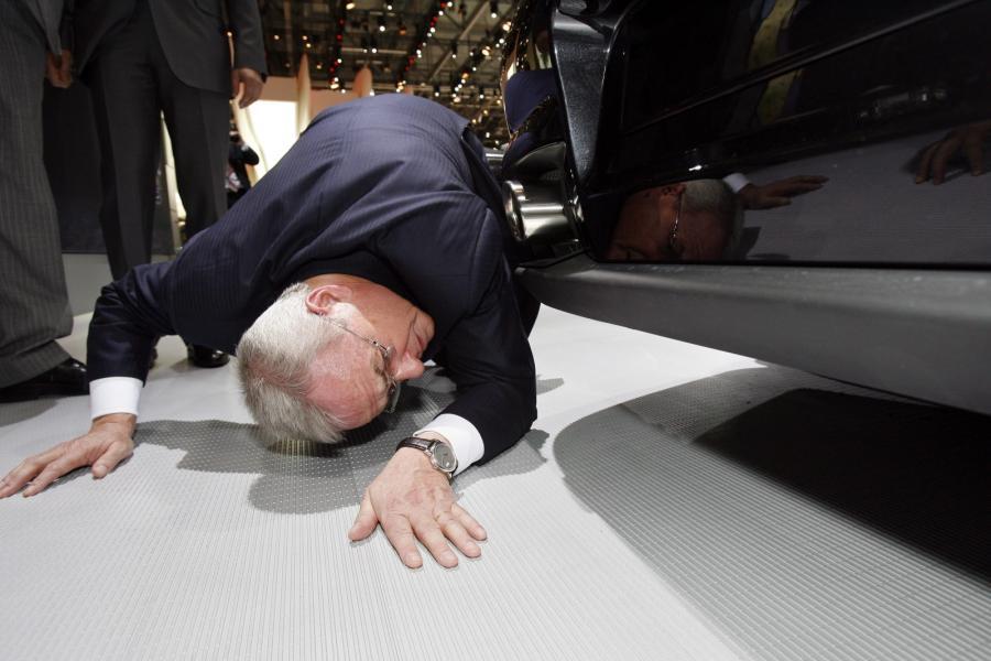 Martin Winterkorn, szef konceru Volkswagen