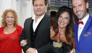 Iwo Orłowski, Małgorzata Potocka i Agnieszka Fitkau-Perepeczko z partnerem