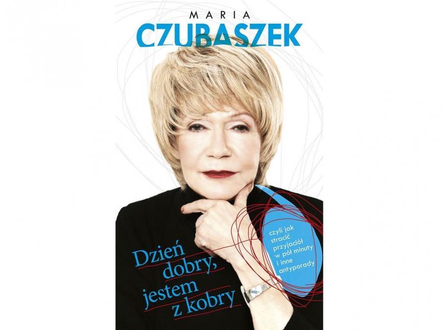"""okładka książki Marii Czubaszek """"Dzień dobry jestem z Kobry"""""""