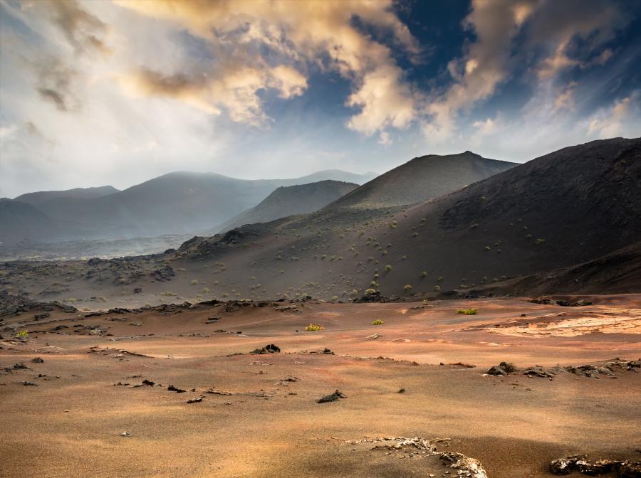 Park Narodowy Timanfaya, Lanzarote, Wyspy Kanaryjskie