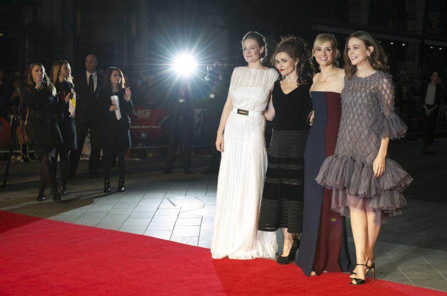 Romola Garai, Helena Bonham Carter, Anne Marie Duff i Carey Mulligan