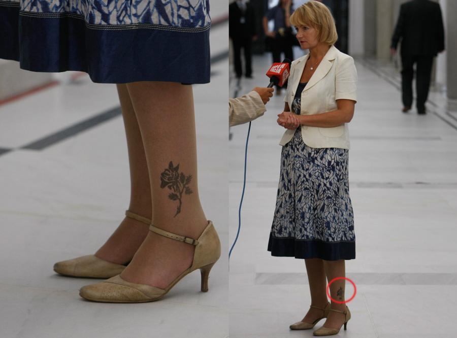 Szczypińska Przywiozła Z Urlopu Tatuaż Polityka Wszystko
