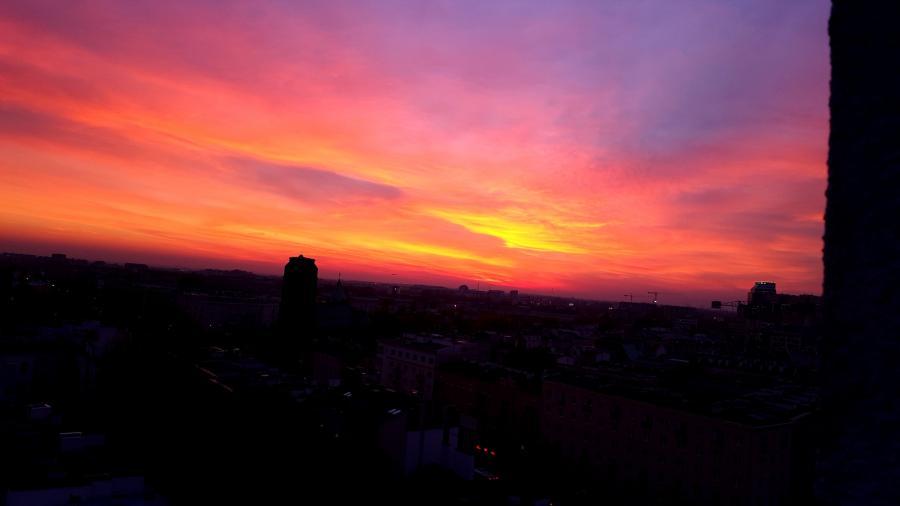 Niebo nocą (Zdjęcie robione Samsung Galaxy S6 Edge+)