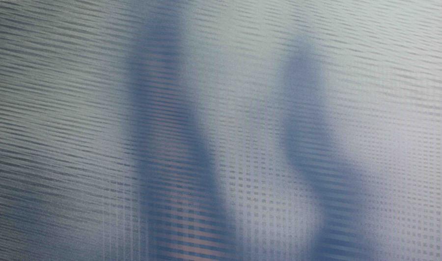 Interferencje IX, akryl na płótnie, 150x90 cm