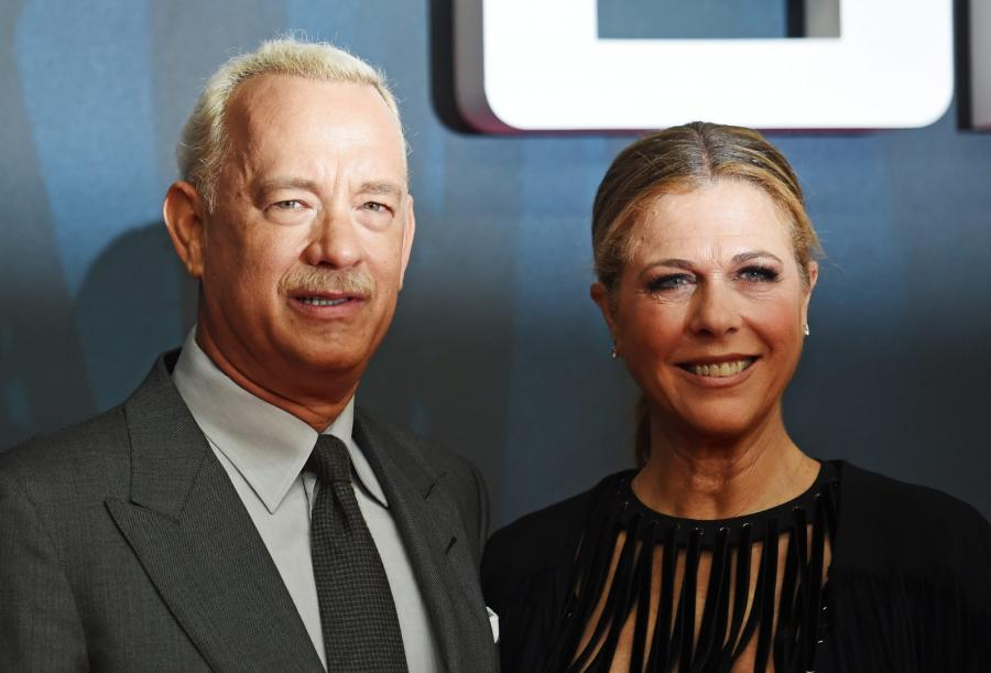 Tom Hanks i jego żona Rita Wilson