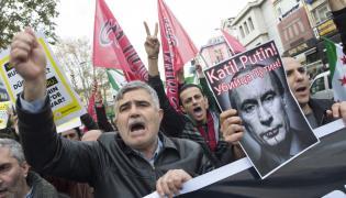 Antyrosyjski protest w Stambule