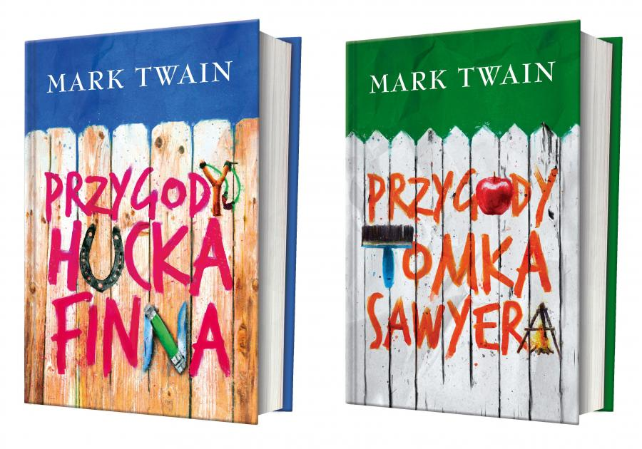 Nowe wydania kultowych książek Marka Twaina