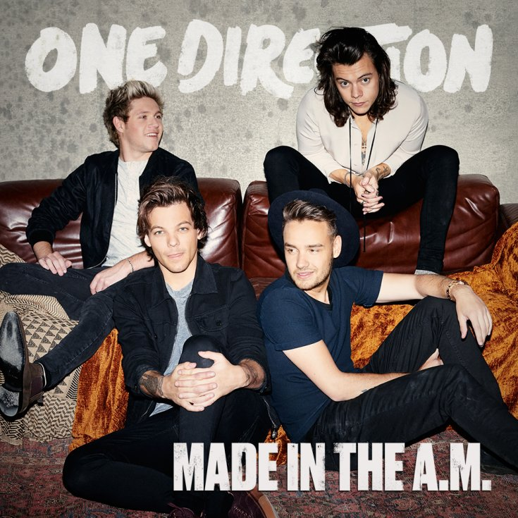"""3. One Direction – """"Made in the A.M."""""""