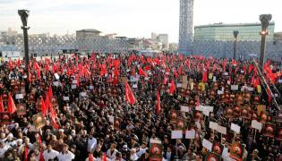 Demonstracja w Teheranie