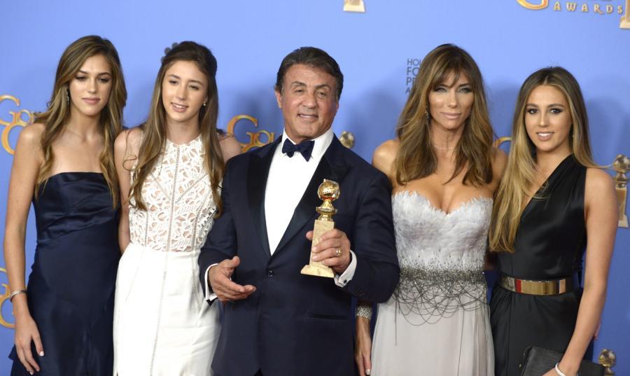 Sylvester Stallone i jego wspaniałe kobiety – trzecia żona i trzy córki