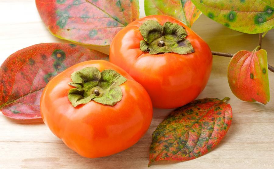 Zdrowy owoc kaki