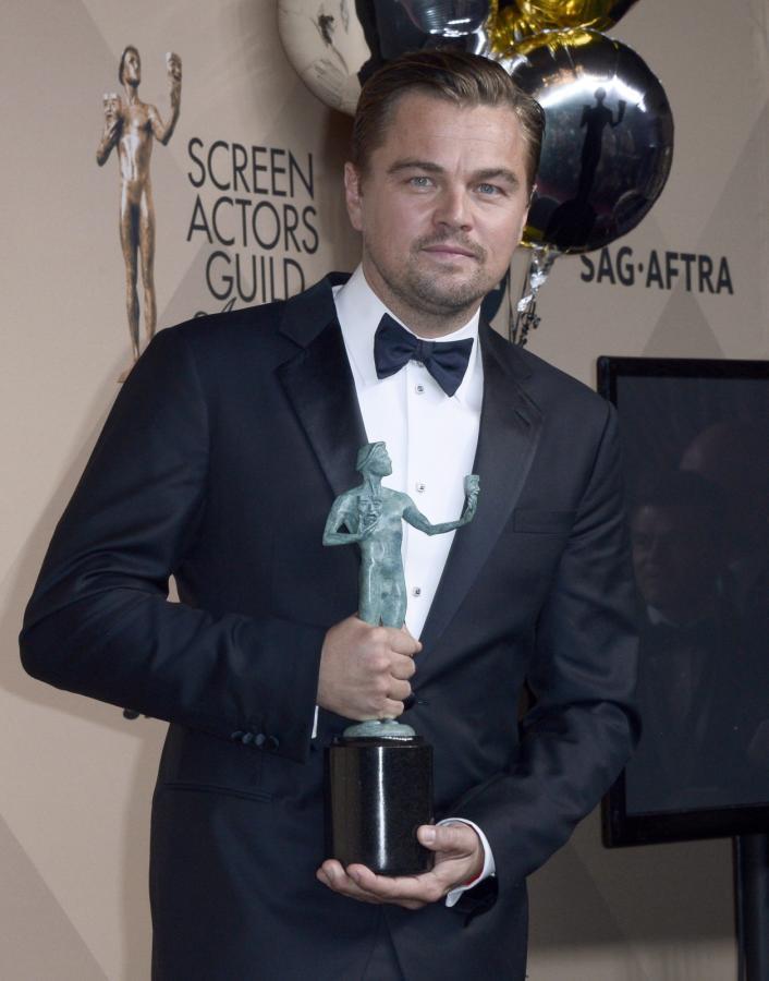 Leonardo DiCaprio z nagrodą SAG. Oscar coraz bliżej?