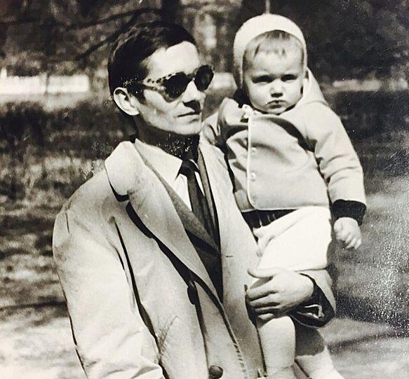 Kuba Wojewódzki z ojcem