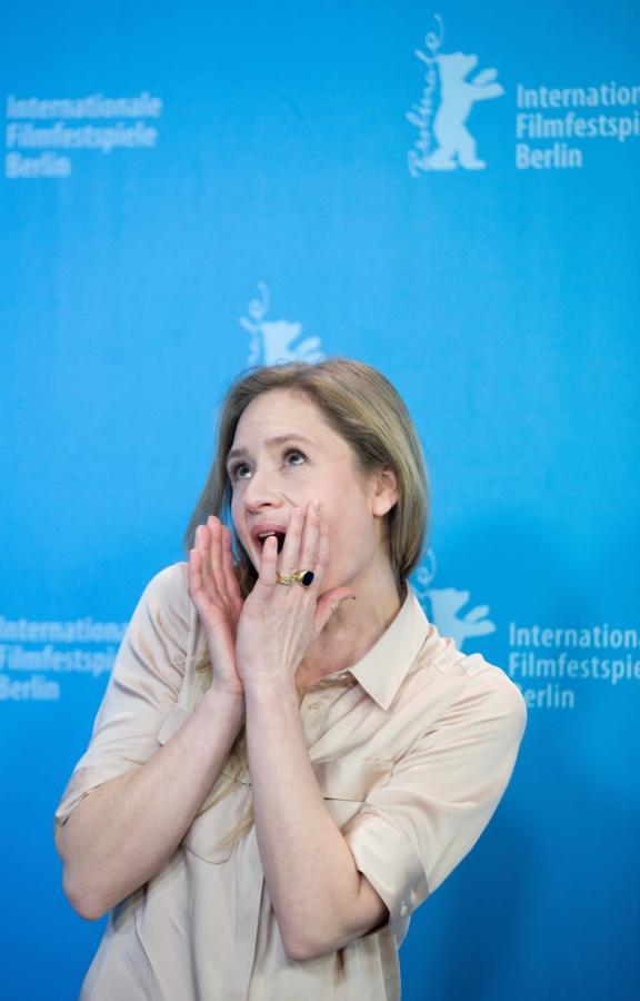 "Julia Jentsch podczas promocji ""Midnight Special"""