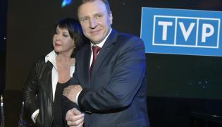 Jacek Kurski i Elżbieta Jaworowicz