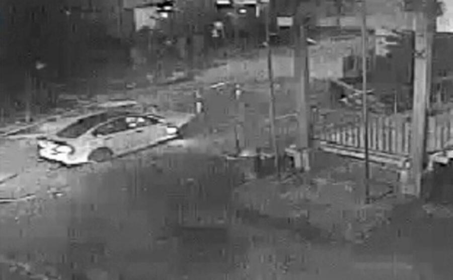 Film z monitoringu miejskiego