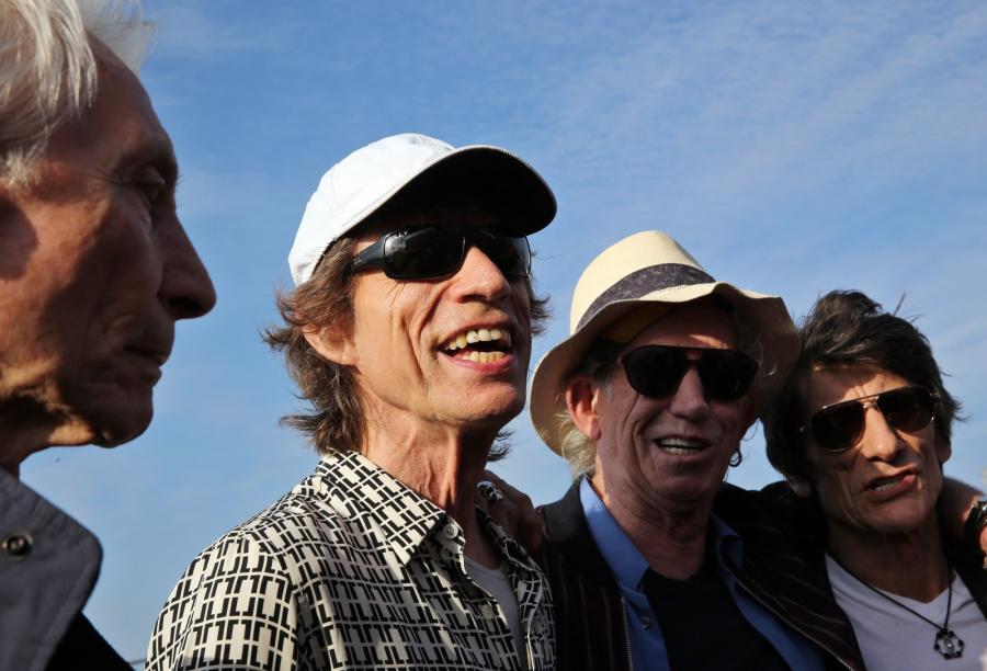 Stonesi przylecieli na Kubę, koncert w piątek wieczorem