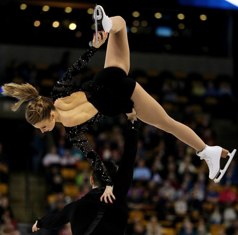 Kirsten Moore-Towers i Michael Marinaro