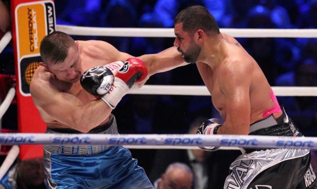 Adamek przegrał przez nokaut. To definitywny koniec kariery polskiego boksera. ZDJĘCIA