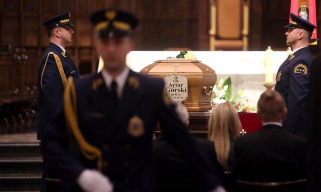 Przybyli: Duda, Kaczyński, Szydło... Uroczystości pogrzebowe posła PiS Artura Górskiego [ZDJĘCIA]