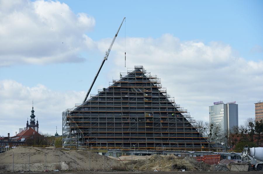 Budowa Muzeum II Wojny Światowej w Gdańsku