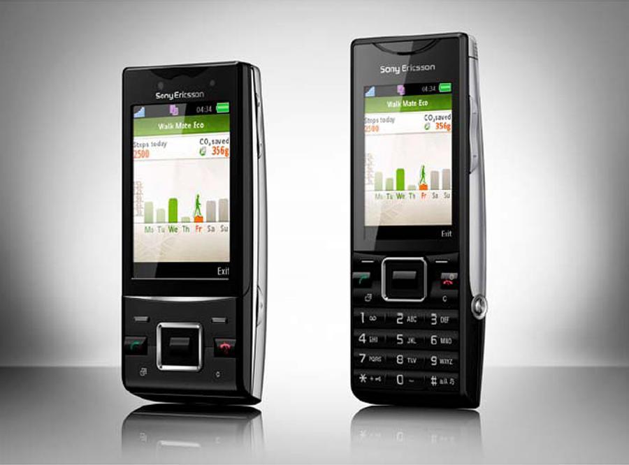 Zielone telefony od Sony