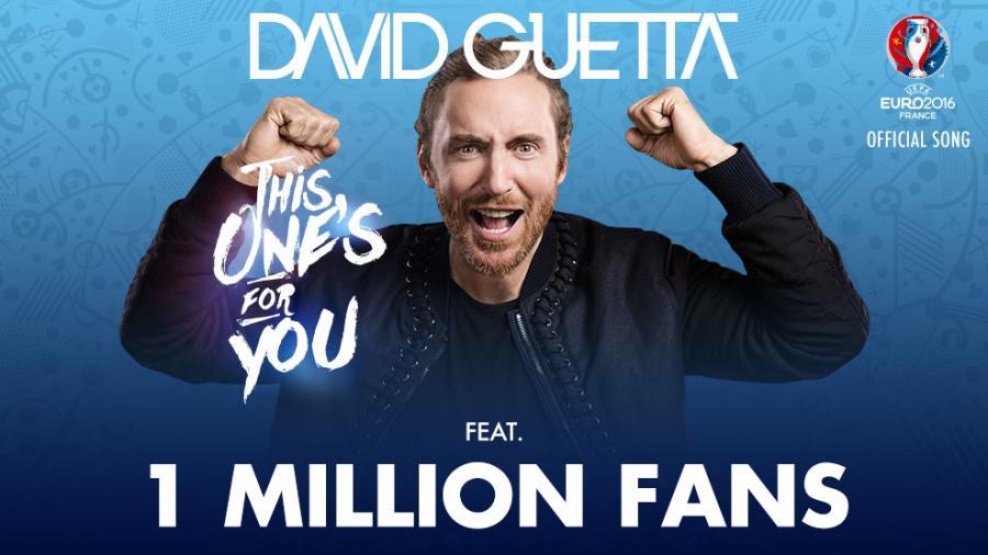 David Guetta wpadł na pomysł, aby w nagraniu za pośrednictwem aplikacji, wzięło udział milion fanów piłki nożnej