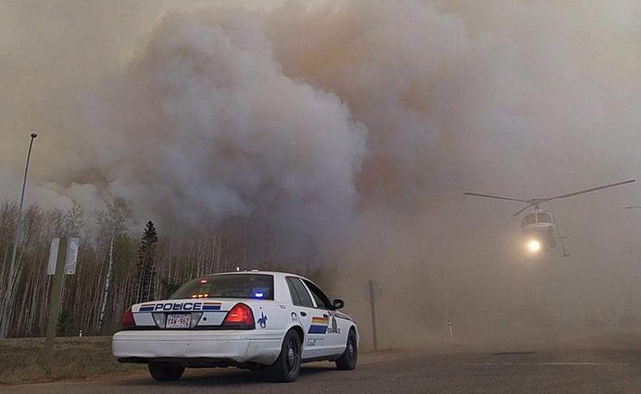 Pożary w prowincji Alberta