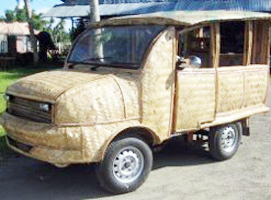 Bambusowe auto uratuje świat
