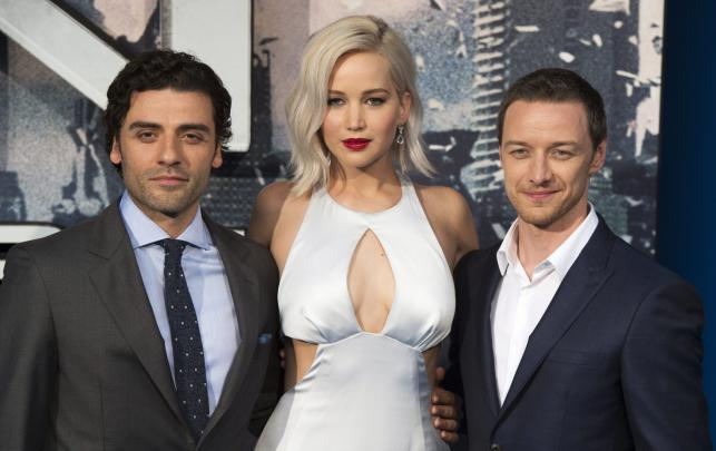 "Gwiazdy ""X-Men: Apocalypse"": Oscar Isaac, Jennifer Lawrence i James McAvoy"