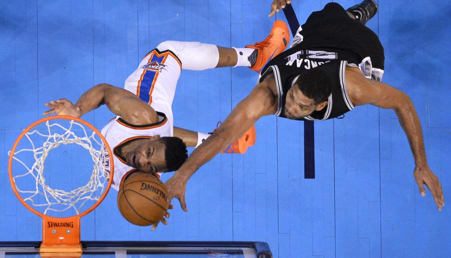 Tim Duncan i Russell Westbrook