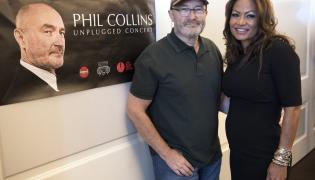 Phil Collins i jego żona Orianne –twórcy Little Dreams Foundation