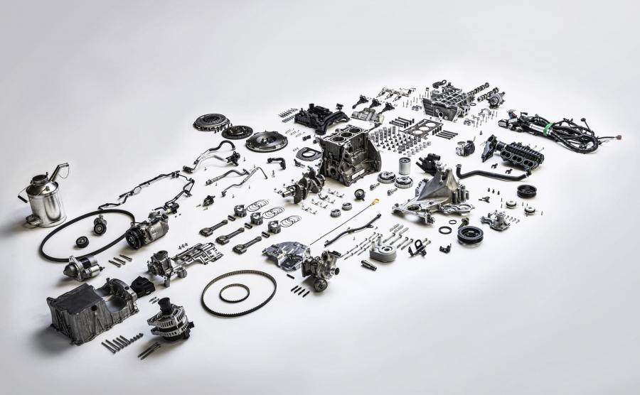 Silnik Forda 1.0 EcoBoost