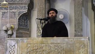 Przywódca Państwa Islamskiego Abu Bakr al-Baghdadi