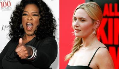 Oprah Winfrey kocha piersi Kate Winslet