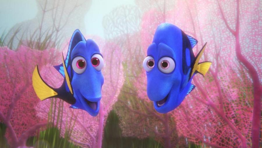 """W """"Gdzie jest Dory?"""" ryby są bardzo ludzkie"""