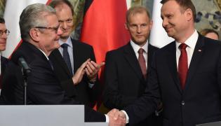 Joachim Gauck i Andrzej Duda