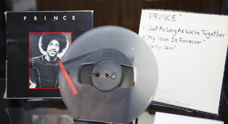 Taśma demo Prince'a na aukcji w Beverly Hills