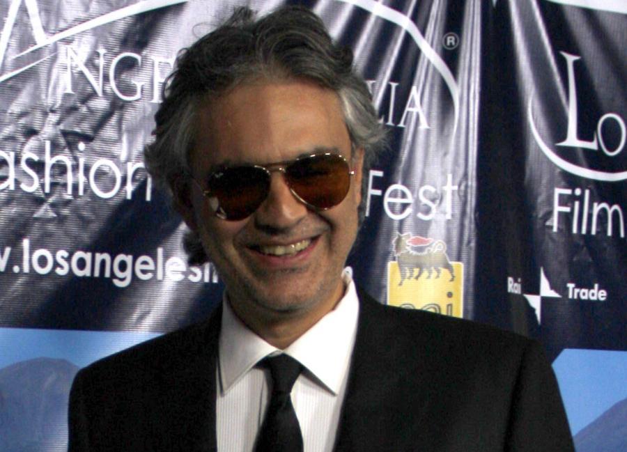 Włoski śpiewak operowy Andrea Bocelli wystąpi na Stadionie Legii