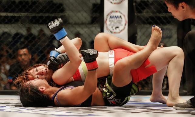 Ale młócka! MMA to nie tylko UFC i KSW. ZDJĘCIA
